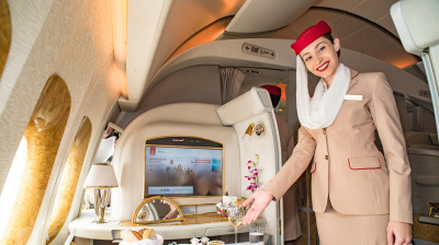 Emirates brings First Class to Durban