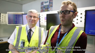 Video: British Airways celebrates Father's Day with special flight