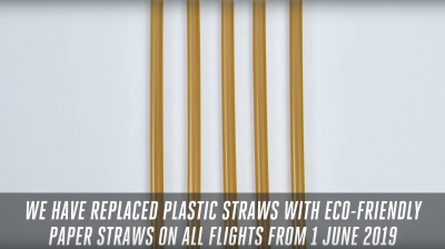 Video: Emirates cuts back on single-use plastics