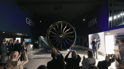Video: GE9X engine debuts at Paris Air Show 2019