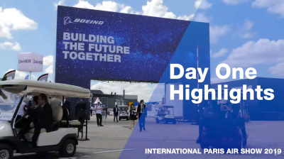Videos: Boeing releases highlights of first day at Paris Air Show 2019