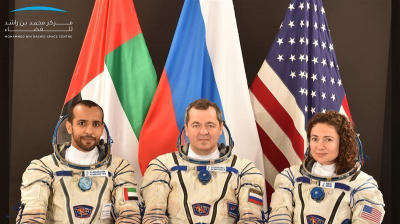 UAE astronauts on countdown to first space mission