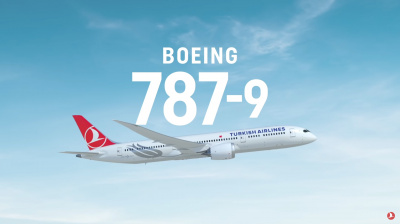 Video: Turkish Airlines adds Boeing 787-9 to fleet