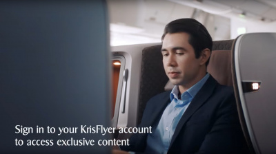 Video: Singapore Airlines shows off myKrisWorld entertainment experience