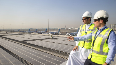 DXB completes installation of the region's largest airport solar energy system at Terminal 2