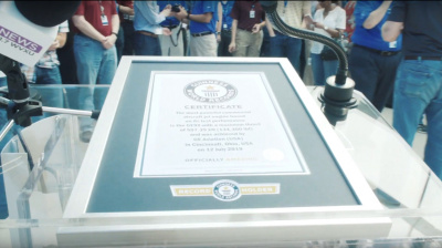 Video: GE Aviation nabs Guinness World Record title for thrust