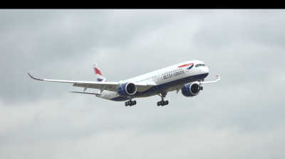 Video: British Airways completes first A350 landing