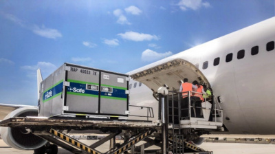 Lufthansa Cargo clears CSafe RAP container for flight