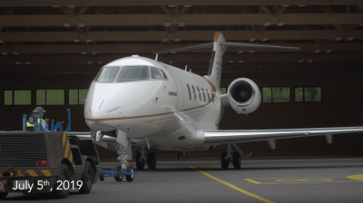 Video: Bombardier's Challenger 350 aircraft sets new records