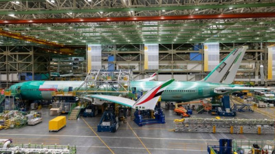 FIRST LOOK: Emirates shows photos of its first Boeing 777X