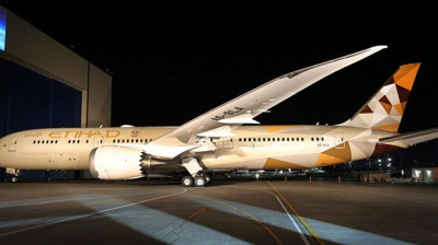 Etihad Airways to launch Dreamliner on Jakarta, Male routes