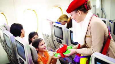 Emirates named world's most family friendly carrier