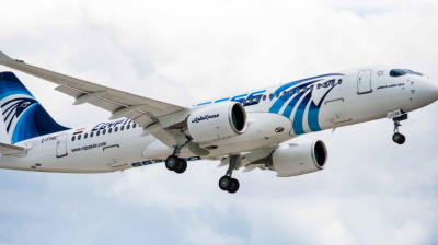 Egyptair takes delivery of its first Airbus A220
