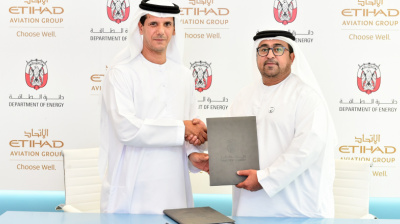 Abu Dhabi Department of Energy partners with Etihad to support sustainability and special needs