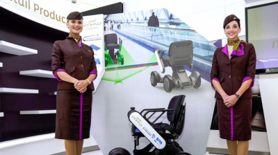 Etihad and Abu Dhabi Airports begin trials of self-driving wheelchairs