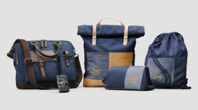 Lufthansa upcycles plane parts for new lifestyle collection