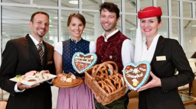 Oktoberfest lands on Emirates in-flight menu