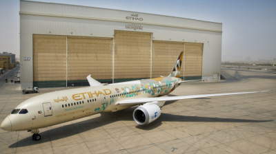 Etihad, Adnoc celebrate Saudi National Day with bespoke aircraft liveries