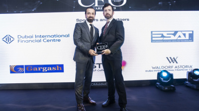 Jetex founder wins Aviation CEO of the Year at the CEO Middle East Awards 2019