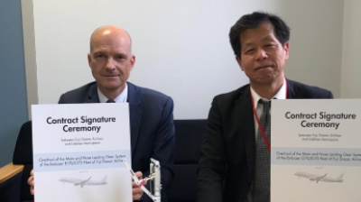 Liebherr-Aerospace signs contract with Fuji Dream Airlines