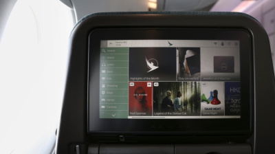 Cathay Pacific quadruples in-flight entertainment capacity
