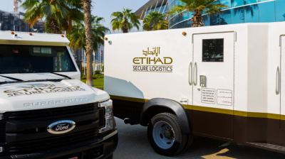 Armoured vehicles brought into Etihad fleet for Jewellery & Watch Show