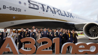 VIDEO: Starlux to inject 'new vitality into industry' as it receives first aircraft