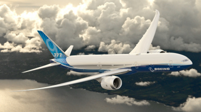 Boeing: Focus on safety and a 777X seating mock-up