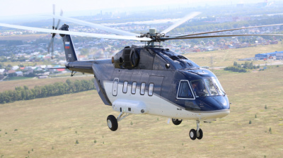 Latest Mi-38 helicopter is introduced to Middle East investors
