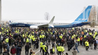 Boeing resumes 737 Max production with view to ramp up assemblies