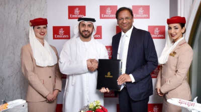 Emirates chosen as SpiceJet's first-ever codeshare partner