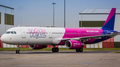 Wizz Air plans to operate over 50 aircraft in the Middle East
