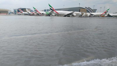 Rain chaos continues at DXB as flights are scattered to other airports