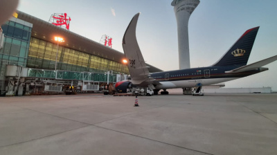 Royal Jordanian plane evacuates Arabs and Palestinians in Wuhan