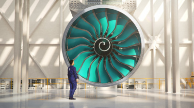 World's largest fan blades under construction at Rolls-Royce facility