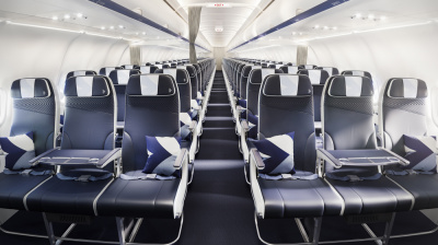 IN PICS: Greek national airline AEGEAN overhauls livery and cabin interiors