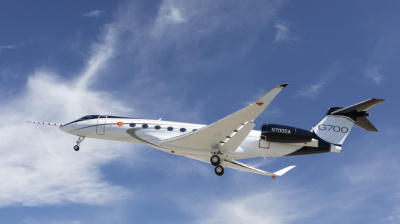 Gulfstream G700 makes first flight under Rolls-Royce's Pearl 700 engines