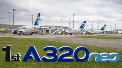 Egyptair becomes first in MENA to operate both A320neo and A220