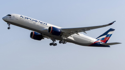 Aeroflot becomes first operator of A350-900 in Eastern Europe