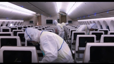 VIDEO: Gulf Air aims to put customers at ease with disinfection show
