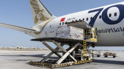 Bahrain's Gulf Air airlifts special food consignment from India