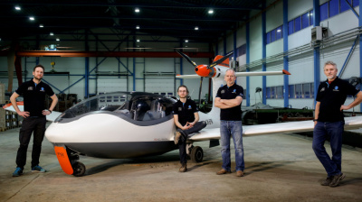 Norway unveils its electric champion for Air Race E