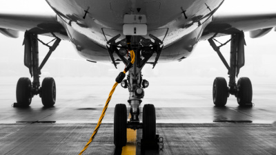 Commercial aircraft left idle on the tarmac are offered saving grace