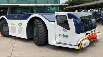 Fully-electric pushback tractor trialled in Thailand