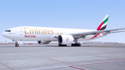 Emirates cargo flights 'kept wolf from the door' after passenger jets were grounded