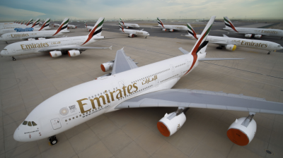 What Emirates does with more than 200 grounded aircraft
