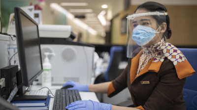 Etihad Engineering starts 3D printing face shields for UAE medical institutions