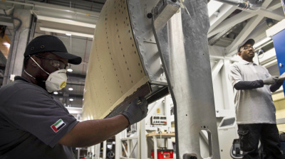 Strata delivers 100 shipsets of A350 IBFs for Airbus