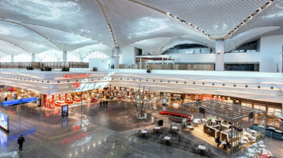 New Istanbul Airport outfitted with digital duty free zone