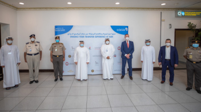 Abu Dhabi Intl's new fast track system speeds up airport transfers by 27%